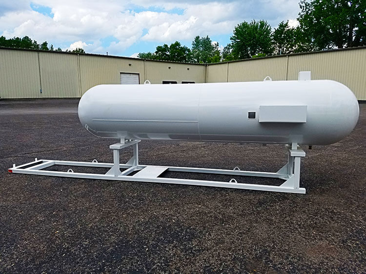 Commercial 1000wg Skid propane tanks